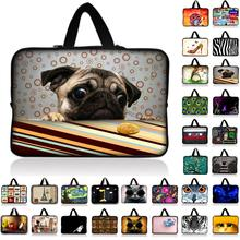 Pug Laptop Computer Bag Notebook PC Smart Cover For ipad MacBook waterproof Sleeve Case 7 10 12 13 14 15 17 inch Laptop tablet