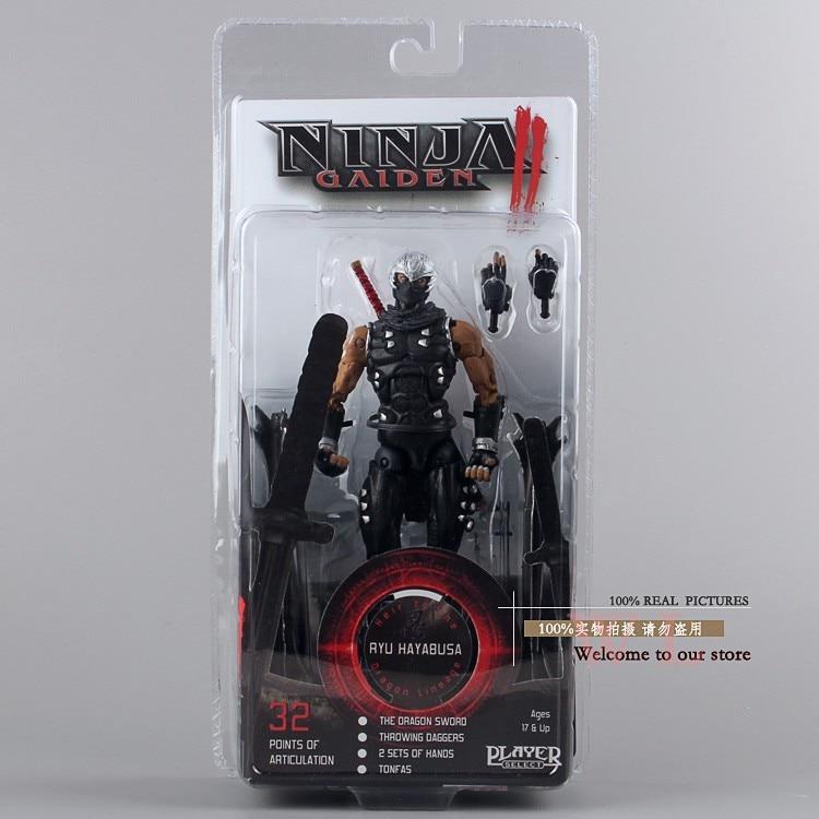 New Ninja Gaiden II 18CM Ryu Hayabusa Neca Player Select Action Figure toys Free Shipping<br><br>Aliexpress