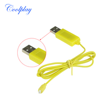 Syma S107 USB R/C Helicopter Charger cable for SYMA S107G X107 S105 S109G 3.5CH helicopter(China)