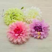 10cm silk artificial corsage headdress daisy chrysanthemum dahlia flowers handmade diy decoration head