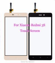 Hot Redmi 3S Outer Glass Lens with Digitizer Replacement Parts for Xiaomi Redmi 3S 3 S Touch screen Front Glass Cover + Tool