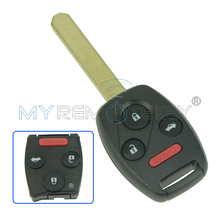 Remote car key N5F-A05TAA 3 button with panic 313.8 Mhz for Honda 2012 2013 Civic Hybrid EX SI 2014 for Accord remtekey(China)