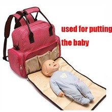 5 In 1 Baby Care Nappy Changing Multifunctional Infant Bags Mom Diaper Bag Backpack For Stroller Babies Handbag Travel BB0092