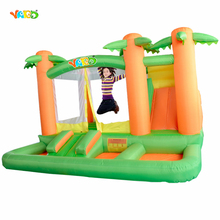 YARD Jungle Tree Bounce House Inflatable Bouncers Mini Trampoline with Ball Pool Slide Special Offer for Asia