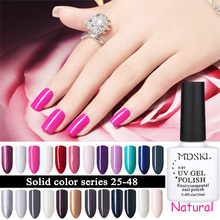 MDSKL Colorful 96 Colors Gel Polish 10ml UV/LED Varnish Nail Gel Soak-off Lacquer Nail Polish