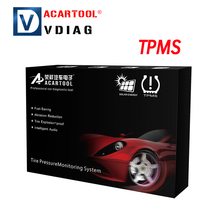 acartool TPMS Car Tire Pressure Monitoring Intelligent System with LED Display Screen 4 Internal Sensors Solar Power Supply(China)