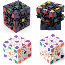 Brand New X-cube 6cm 3x3x3 Gear Magic Cube 3D Puzzle Cubes Edu Black & White 2 Colors