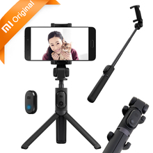 Original Xiaomi Selfie Stick Bluetooth Foldable Tripod Xiaomi Mi Selfiestick Wireless Shutter 360 Rotation for Android & iPhone