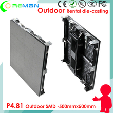 Good quality beautiful video without flicker p4.81 outdoor rental led curtain wall / backdrop led video wall panel p3.91 p6.25