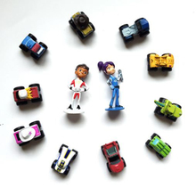 12pcs/set Blaze Monster Machines With original box Toys Vehicle Car Pickle Zeg Darrington Crusher Stripes BlazeMonster XSJ073