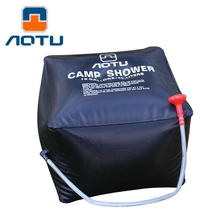 New 40L / 10 Gallons Shower Water bag Solar Energy Heated Camp Shower Bag Outdoor Camping Hiking Utility Water Storage D1333HY