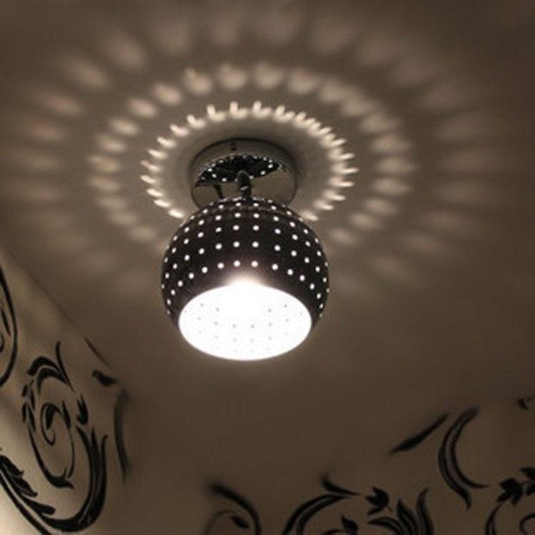 Modern led pendant lights living room bedroom corridor entrance corridor balcony ball creative personality pendant lamps ZA<br>