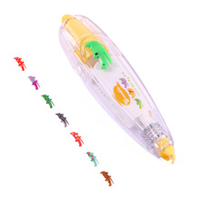 Cute Novelty Decorative Correction Tape Correction Fluid School & Office Supply(Yellow crocodile)(China)