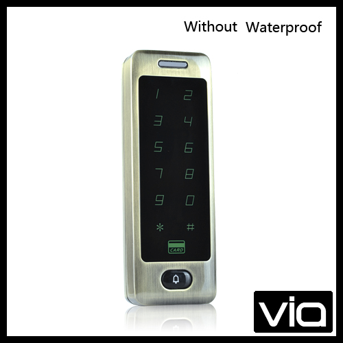 C40 ID+Without Waterproof Free Shipping wieless metal single smart card door access control with touch keypad 5 color available<br><br>Aliexpress