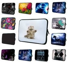 Neoprene Laptop Sleeve Case Cover For 7 8 10 12 13 15 17 17.3 14.1 inch Notebook Netbook Tablet 10.1 Capa Para 15.6 13.3 PC Bags