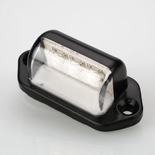 Practical 10-30V 3 LED Number Licence Plate Rear Tail Light Lamp Truck Trailer