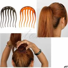 U119 Free Shipping Hair Styler Volume Inserts Hair Clip Bouffant Ponytail Hair Comb Bumpits