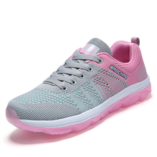 Sports Shoes 2017 Women's Running Shoes Spring Female Pink Black Breathable Walking Jogging Trendy Sneakers Shoes US 5-US 8 RnA3(China)