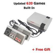 NEW Two Button Mini TV Handheld Game Console Video Game Console For Nes Games with 620 Built-in classical Games PAL and NTSC(China)