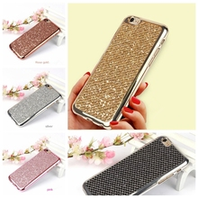 Buy Dreamysow Luxury Glitter Bling Cover Case iPhone 8 7 Plus 6 6s Plus 5 5S SE X 8plus Phone Soft Silicon TPU Cases Capa Fundas for $1.26 in AliExpress store