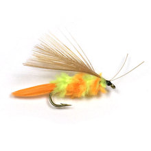 10PCS 10# Mayfly Lifelike Bumble Bee Fly Best Wet Fly For Fly Fishing Trout Bass Lure