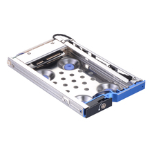 Uneatop 2.5in aluminum bracket caddy tray sata enclosure 2.5 hot swap 6Gbps 9.5mm hdd mobile  rack with lock