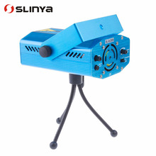 4 in 1 Multifunctional Mini Projector Red & Green Meteor Laser Stage Lighting Show System(China)