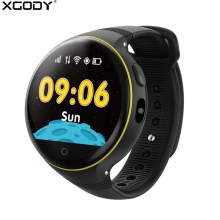 XGODY S668 Smart Watch for Children GPS SOS Tracker Wrist Watch Cell Phone Support GSM SIM Card Kids Smartwatch for Android IOS(China)