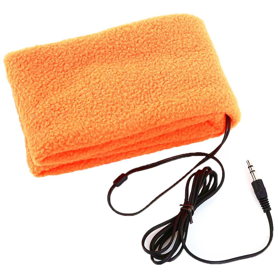 MAHA Novelty Soft Comfortable Sleeping Headphones Sports Headband Headphones Earphones Headset (Orange)<br><br>Aliexpress