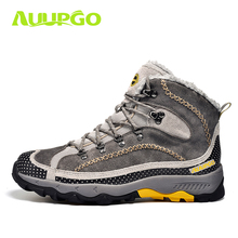Waterproof Hiking Shoes For Men Warm Winter Hiking Boots Waterproof Snow Boots For Man Outdoor Hiking Shoes Female Zapatos