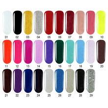 Black Bottle 8ML UV Gel Nail Polish Make Up Nail Art Comestic Diy Soak Off Nail Gel Art UV & LED Matte Nail Polish Tools(China)