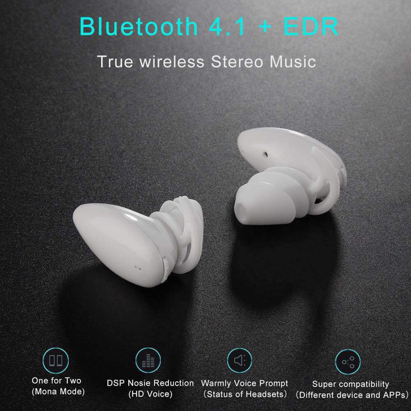 2017 new BO2 nine TWS Ears wireless bluetooth earphone bluetooth4.1 stereo earphone with Charging box for android IOS phone <br>