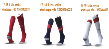 kids quality Bayernes Muniches socks 2017 2018 home red away black 3RD white child soccer football calcetines chaussettes(China)