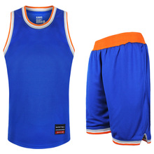2017 Basketball Jersey+Shorts Throwback sportswear sports clothes Elastic Basketball Training Suit 2 piece suit Gym Fitness(China)