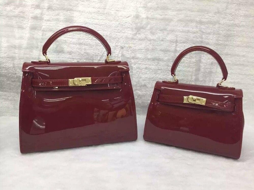2017 new luxury brand design Women Jelly handbags Girls high quality Candy PVC waterproof Casual bag<br><br>Aliexpress