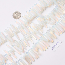 "18mm-20mm White Opalite Beads natural stone beads DIY loose beads for jewelry making Strand 15"" wholesale !(China)"