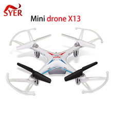 Original SYMA X13 Storm Mini RC Quadcopter 2.4G Drone 6-Axis Headless Helicopter Toys Gift VS H22 H21 H8 Mini Dron