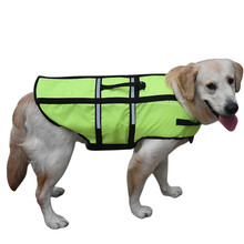 Pets Dog Life Jacket Life Vest Safery Swimsuit Big Dog Clothes Waterproof Raincoat Pets Swimming Preserver Plus Size(3XL~7XL)