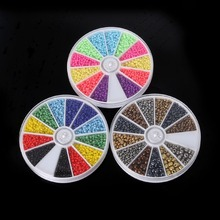 12 slots 600-1000 pcs Mixed Glass Seed Beads Jewelry Making Kit for Handcraft(China)