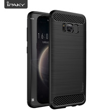 IPAKY Case Bumper Silicone Cover On For Samsung Galaxy S6 S7 edge S8 S 6 7 8 S6edge s7edge S8plus Plus 4gb/6gb 32gb/64gb/128gb