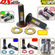 "Motorcycle Pro Taper Grip Handle MX Grip Fit Dirt Pit Bike Motorcross 7/8"" Handlebar Rubber GEL Hand Grips Free shipping"