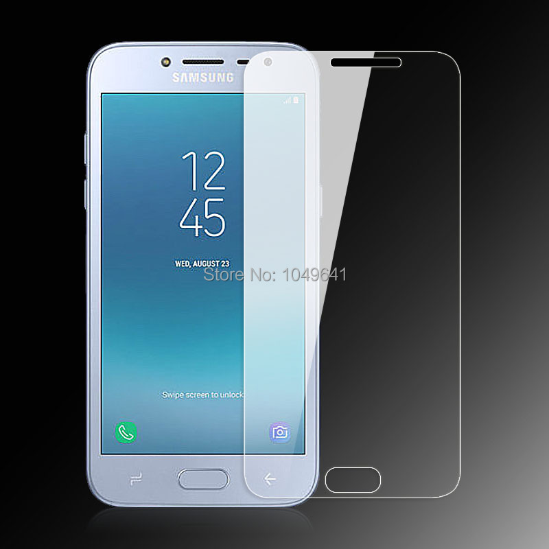 KCLC2884_3_9H 2.5D Explosion-proof LCD Tempered Glass Film Screen Protector for Samsung Galaxy J2 Pro 2018 J250F