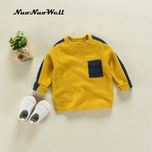 NNW Child Autumn Winter Knitted Clothes 2-6T Baby Boys Girls Sweater Shirt Knitwear Infantil Kid Clothing Childrens Sweaters(China)