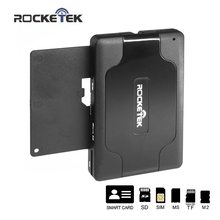 Rocketek 3 USB 2.0 Smart Card Reader DOD Military CAC Common Access/Bank card/ID/SDHC/MMC/Micro SD/TF/M2/MS/sim card adapter