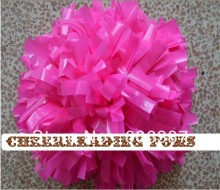 "cheerleading Pom poms 3/4""x 6""~custom color wet plastic peach pink handmade new hot sale custom made"