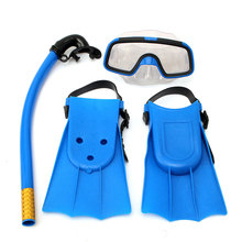 Panoramic Snorkeling Diving Mask Fins Flippers 3pcs Snorkels Set Kit Sport Training Snorkeling Equipment Diving Mask Snorkel set