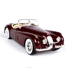 1:24 Scale 1951 XK 120 Classic Convertible Car Model Children Toys Gifts Collections Brinquedos(China)