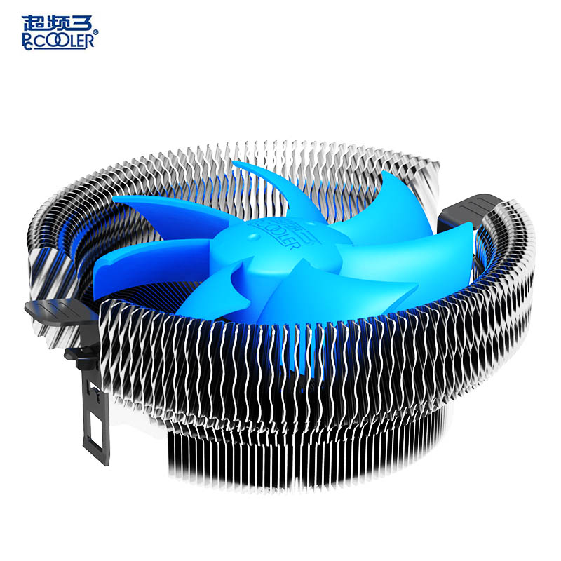 Pccooler cpu cooler 9cm quiet fan for Intel 775 1150 1151 1155 1156 AMD AM2 AM3 FM FM2 computer PC cpu cooling radiator fan(China (Mainland))