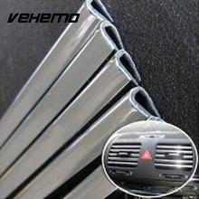 1M Car Styling Car interior Decorative Thread Insert Sticker Car Air Outlet Dashboard Panel Door Decorative Tape Strip Trims New