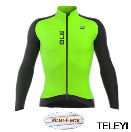 ale Low-profile design classic black winter thermal fleece Cycling Jersey autumn cycling Clothing Road MTB fleece jacket(China (Mainland))